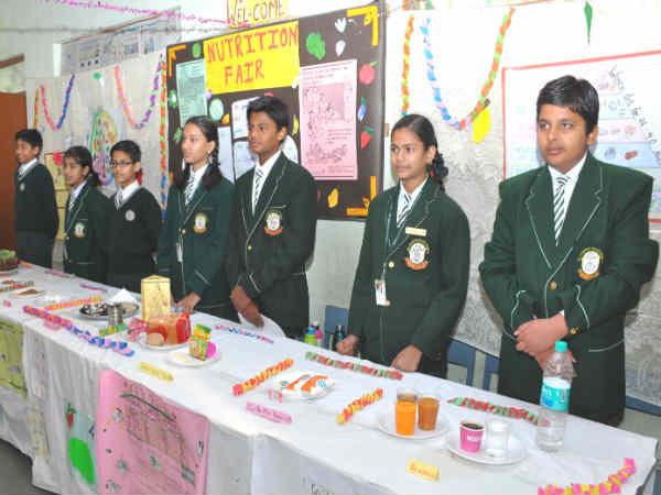 Exhibition at St. Joseph Co-ed School