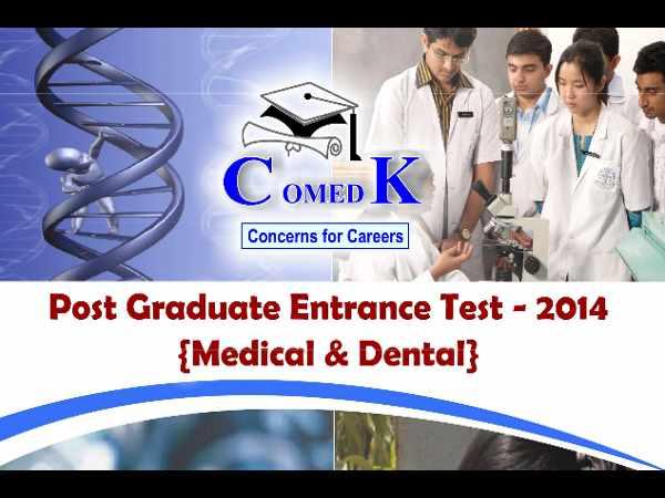 ComedK opens PGET 2014 online registration