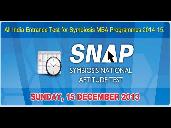 Symbiosis National Aptitude Test 2013 Pattern