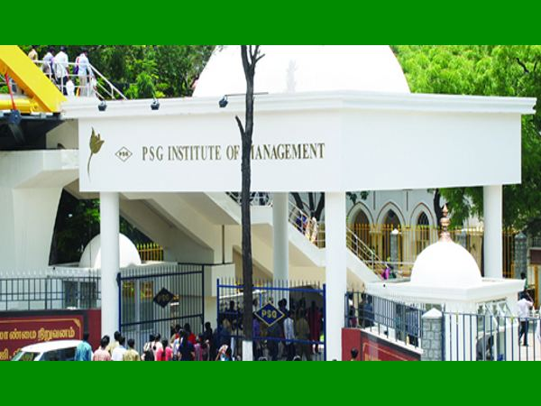 MBA and PGDM admission at PSGIM Coimbatore