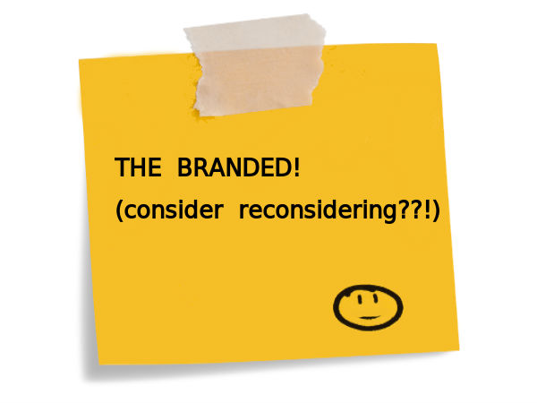 "Re-think before applying to the ""branded"" college"