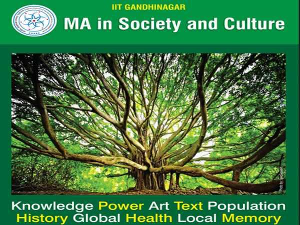 M.A programme admission at IIT-Gandhinagar