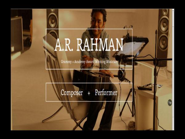 Rahman demands for proper music education