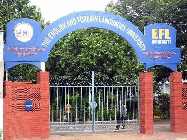 UG and PG programmes admissions at EFL University