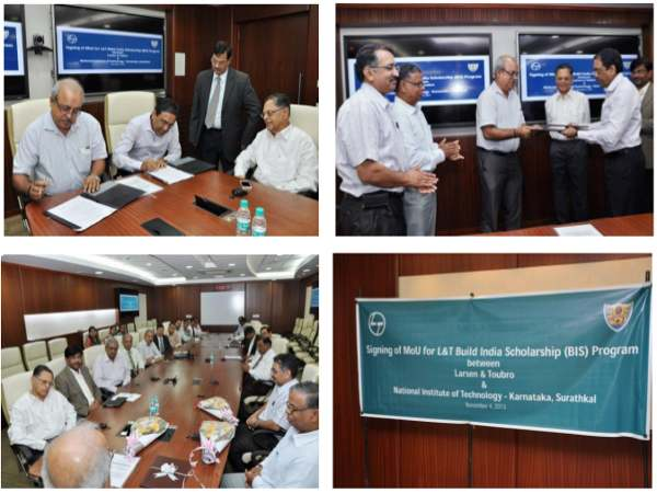 NITK signs MoU with L&T