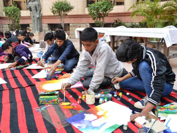 National Museum painting competition for students