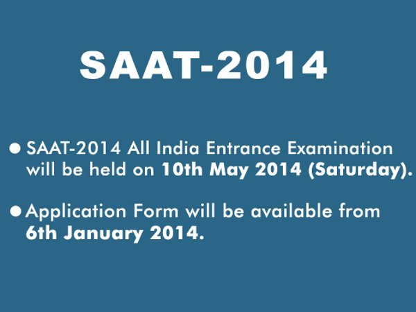 SOA University conducts SAAT 2014