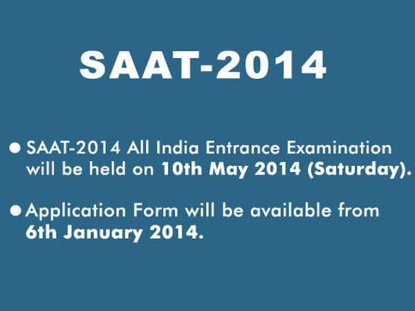 SOA University conducts SAAT 2014