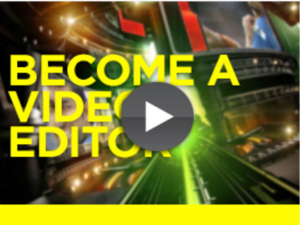 Online video editing course
