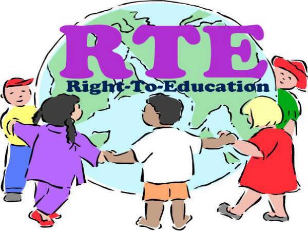 Special training under RTE