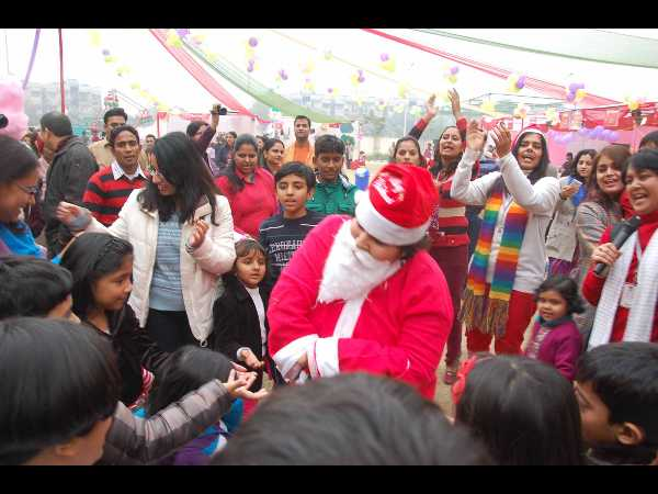 Grand celebration of Christmas at GIIS