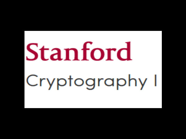 Cryptography I-an online course
