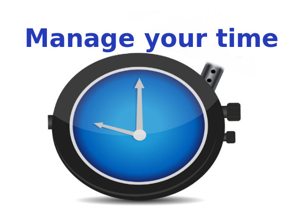 7 pointers to effectively manage time for students