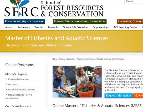 Online course on Fisheries and Aquatic Science