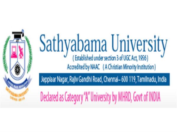 Sathyabama University's Entrance examination 2014