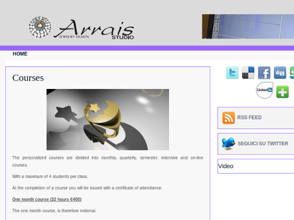 Online course to jewelry  designing