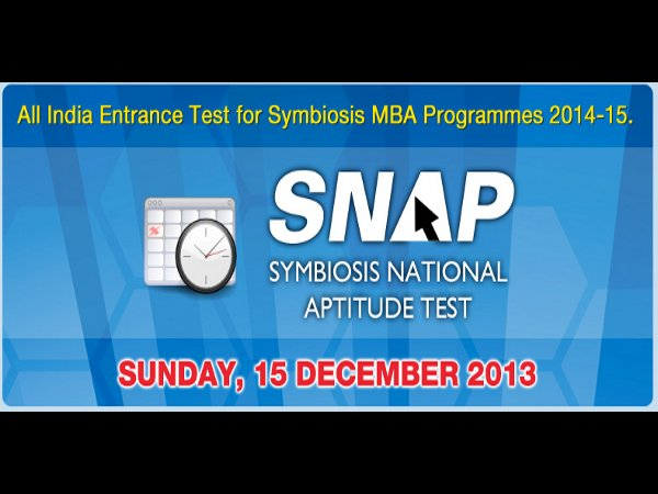 SNAP 2013 results will be announced in Jan 2014