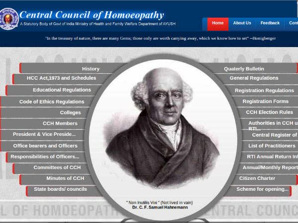 No Allopathy subjects in Homeopathy