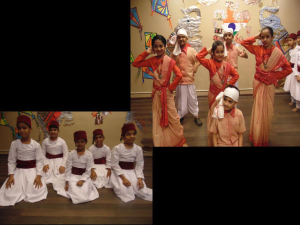 Orchids International School celebrated the flavor of Indian Culture