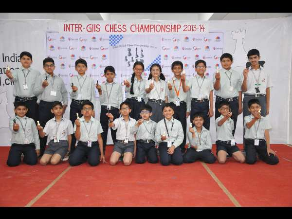 Grand Masters in the Making at GIIS, Noida