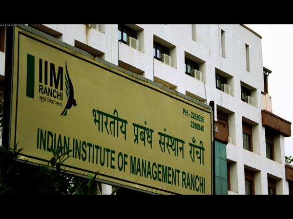 Admissions Open at IIM Ranchi
