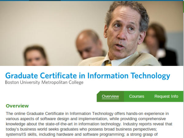 Online course on Information Technology
