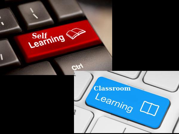 Self study vs. teaching - Impact on learner