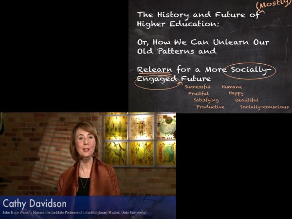 Study history and future of higher education