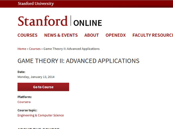 Online course on Mathematical Modeling