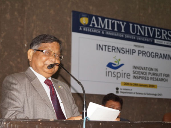 Dr. Anand Kumar – Director, Petrotech Society addressing the gathering