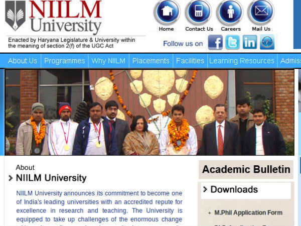 Applications are invited for PGDM