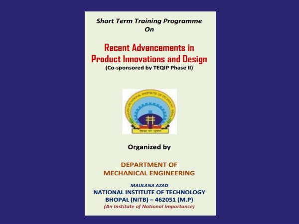 MANIT Bhopal's short term programme