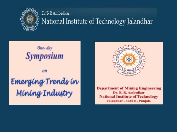 NIT Jalandhar's Emerging Trends in Mining Industry