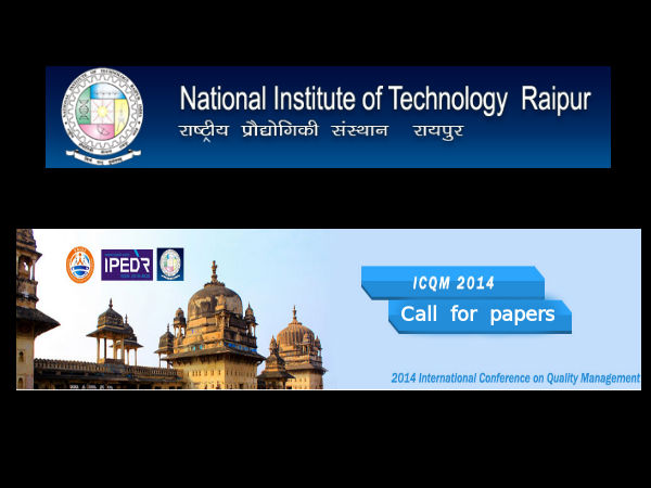 NIT, Raipur invites for International Conference