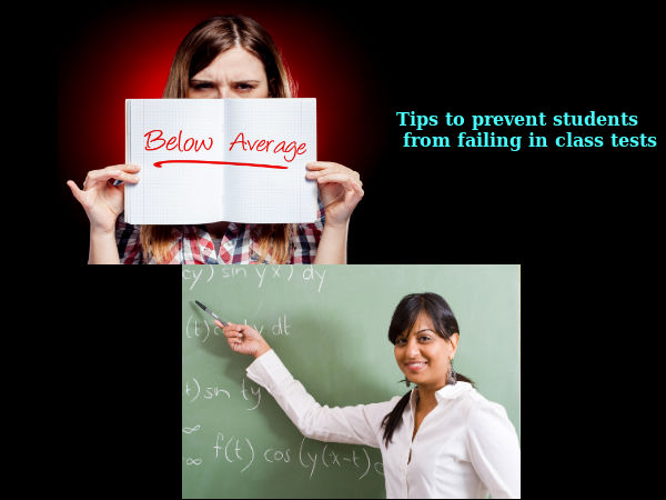 Tips to prevent students from failing in tests