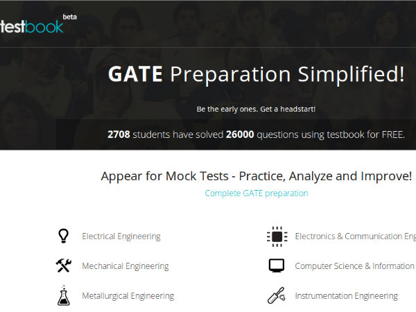 Website to guide GATE aspirants