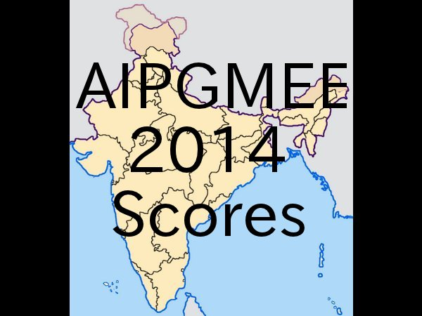 AIPGMEE 2014 exam results declared