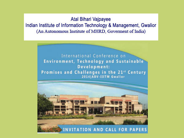 ABV-IIITM, Gwalior's International Conference