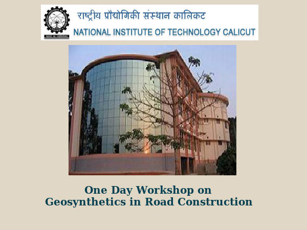 NIT, Calicut's Geosynthetics in Road Construction
