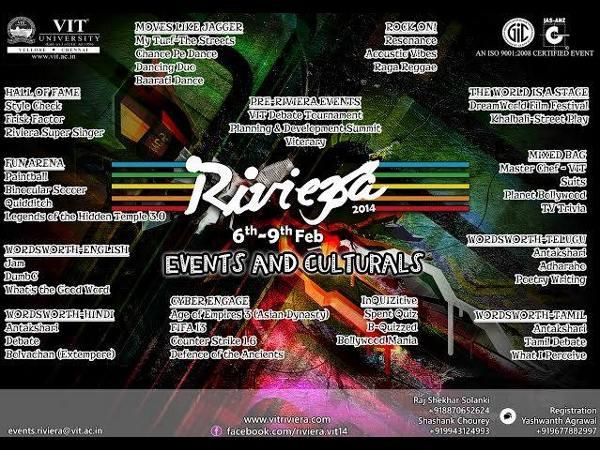 VIT University gears up for Riviera 2014