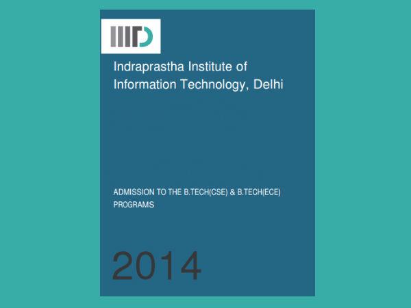IIIT-Delhi announces B.Tech admissions 2014