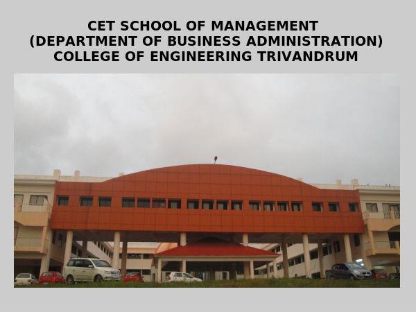 COE, Trivandrum announces MBA admissions 2014