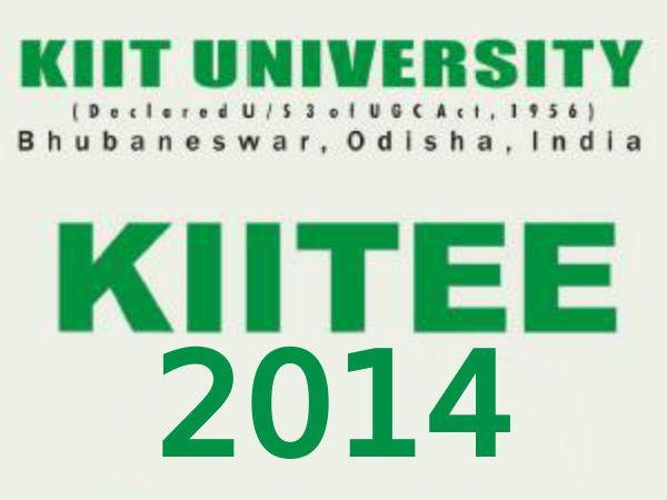 KIITEE-2014 scores for UG and PG programmes