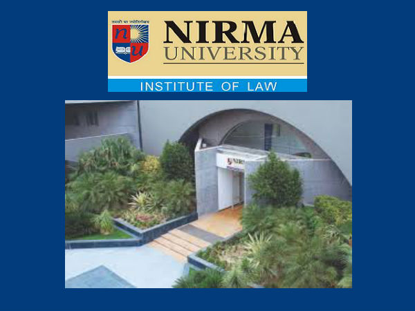 Institute of Law, Nirma University's admissions