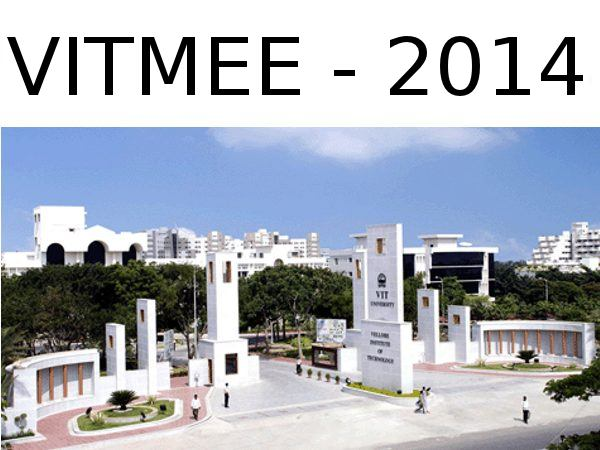 VITMEE 2014 online application form