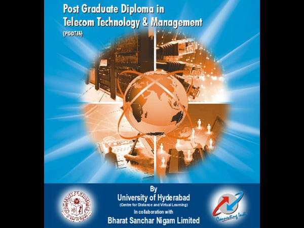 BSNL & Hyderabad University jointly offers PGD-TM