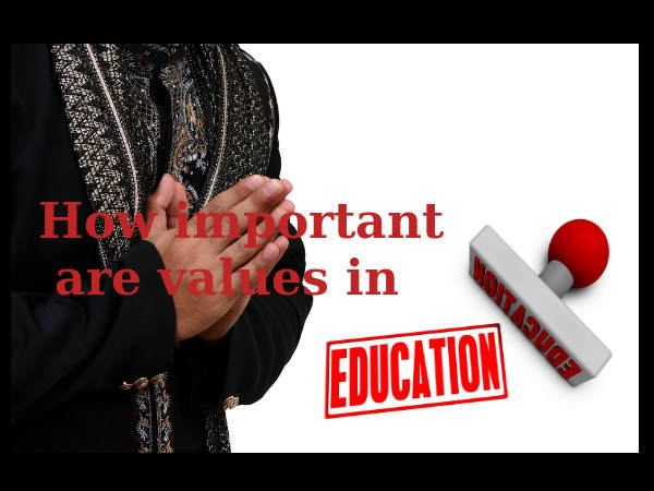 How important are values in education?