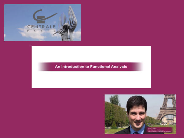 Where to learn about functional analysis?