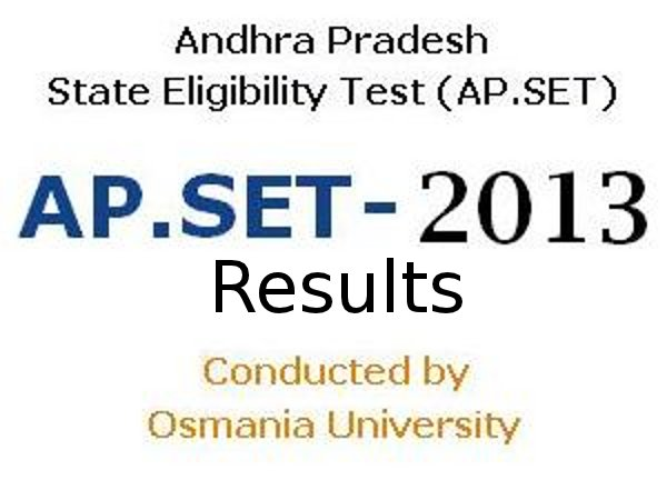 6,267 candidates qualified from APSET 2013 exam
