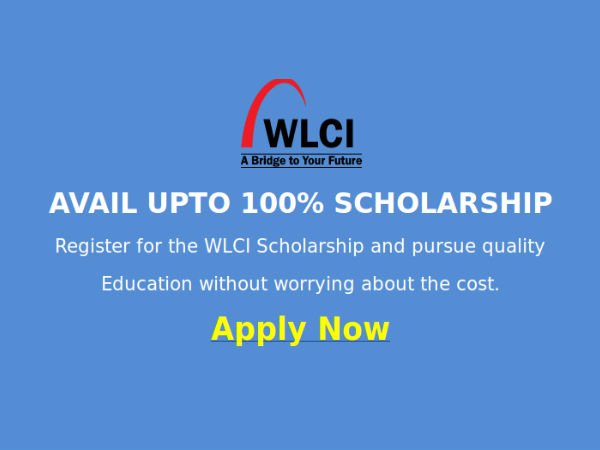 WLCI Scholarship Test 2014, for Indian students